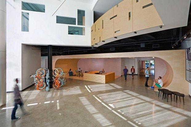 Новые подходы корганизации офисного пространства. Изображение № 25.