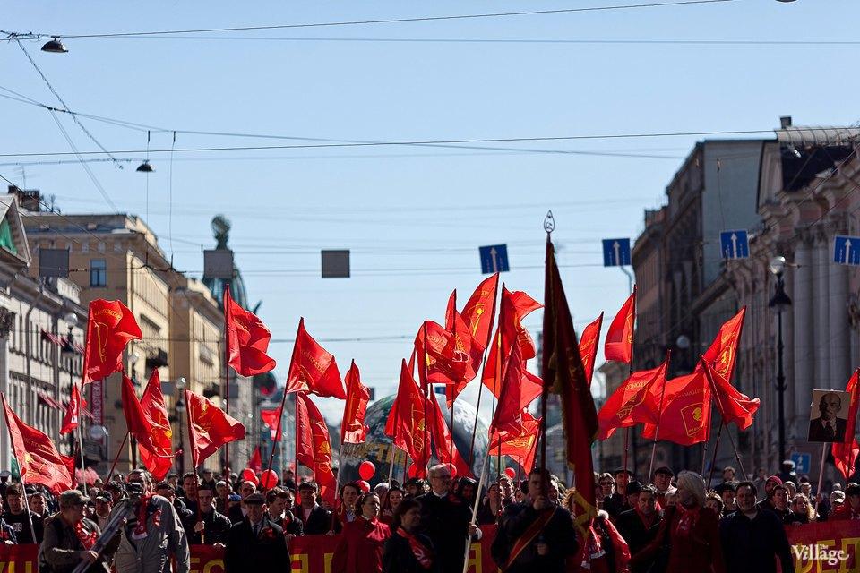 Фоторепортаж: Первомайская демонстрация. Изображение № 4.