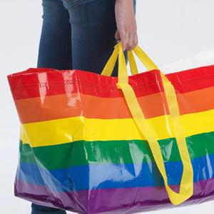 Переиздание той самой сумки ИКЕА — в поддержку ЛГБТ-комьюнити — Вишлист на Wonderzine