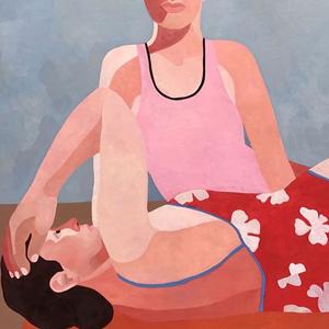 На кого подписаться: Выразительные портреты французской художницы — Искусство на Wonderzine