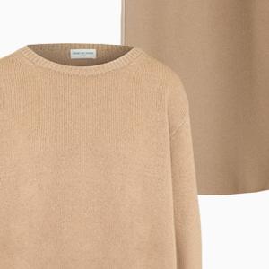 Комбо: Трикотажный свитер с юбкой миди — Стиль на Wonderzine
