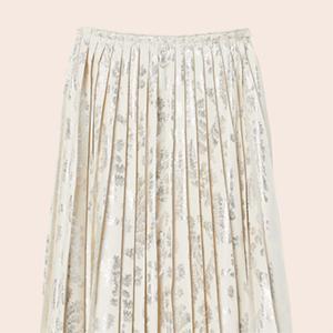 Плиссированные юбки:  От простых до роскошных — Стиль на Wonderzine