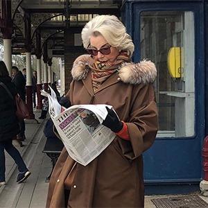 На кого подписаться: Инстаграм, посвящённый стилю бабушек и дедушек — Стиль на Wonderzine