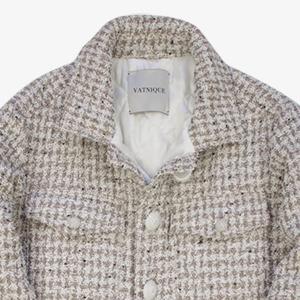Роскошная куртка Vatnique, вдохновлённая твидовым жакетом Chanel — Вишлист на Wonderzine