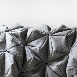 Шерстяной плед-оригами Bloom — Вишлист на Wonderzine