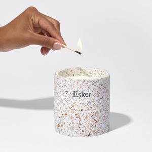 Свеча, которую можно потом использовать как горшок для выращивания трав — Вишлист на Wonderzine