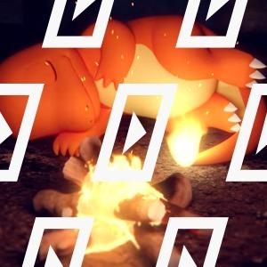 Видео дня: ASMR-ролик с Чармандером у костра