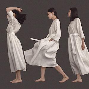 Московская марка Ophelica: Блузы, юбки и платья изо льна и шёлка