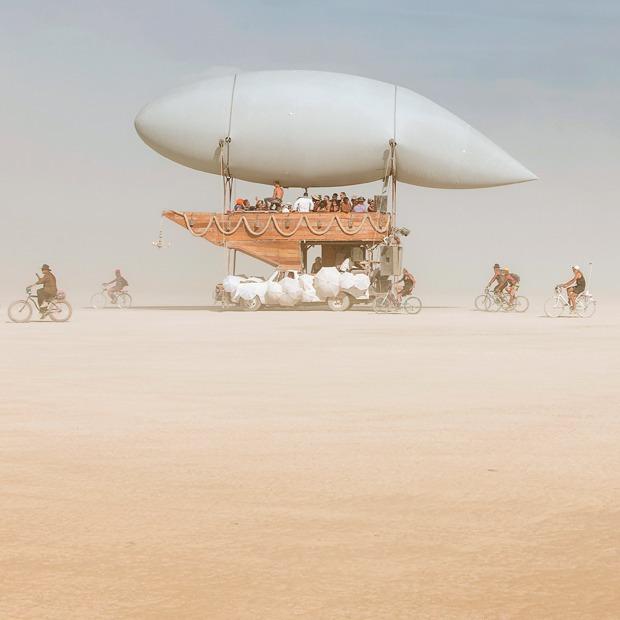 Другая планета: Как я побывала на Burning Man