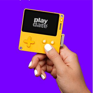 Playdate: Карманная игровая приставка с заводной рукояткой  — Вишлист на Wonderzine