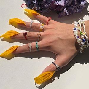 Hiaynderfyt: Яркие украшения из бисера и жемчуга — Новая марка на Wonderzine