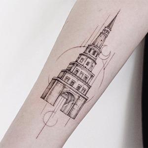 Моя татуировка: Журналистка Сююмбике Давлет-Кильдеева о башне Сююмбике — Жизнь на Wonderzine
