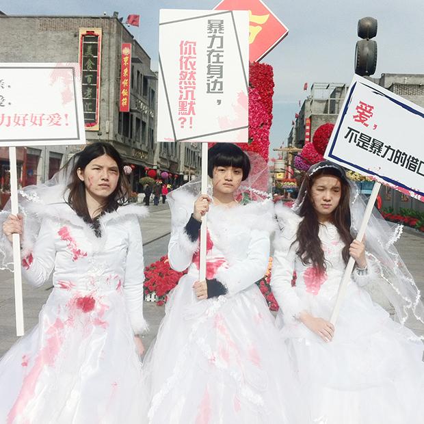 «Кровавые невесты»: Как китайская Компартия борется  с феминизмом