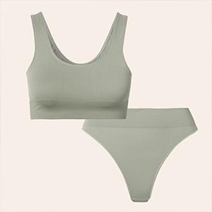 Ничего лишнего: 10 лаконичных комплектов комфортного нижнего белья — Стиль на Wonderzine