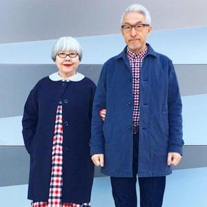 На кого подписаться: Пожилые японские модники Бон и Пон — Стиль на Wonderzine