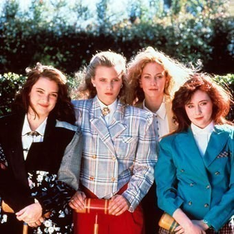 Кинообразы 80х: луки не для скуки — Стиль на Wonderzine