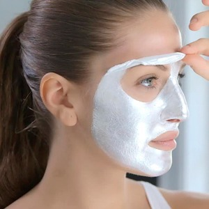 Серебряная маска-плёнка для лица Glamglow