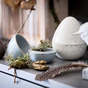 Набор керамических «яиц» ИKEA для хранения мелочей — Вишлист на Wonderzine