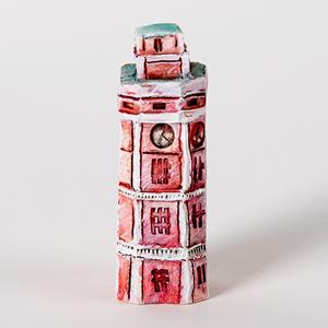 Керамические домики улицы Рубинштейна