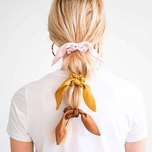 Шёлковые резинки для волос, которые хотят все — Вишлист на Wonderzine