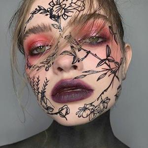 Ужасно красиво: 5 идей для макияжа на Хэллоуин