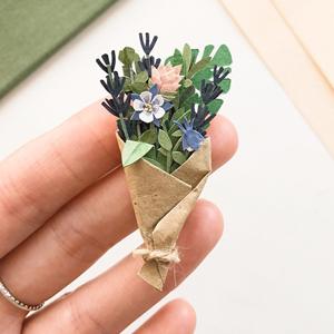 На кого подписаться: Крошечные бумажные растения — Искусство на Wonderzine