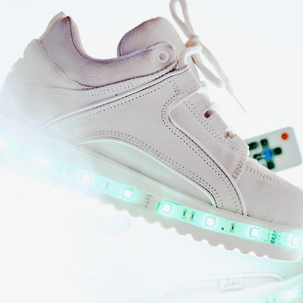 Ревизия:  Белые кроссовки — Съемки на Wonderzine