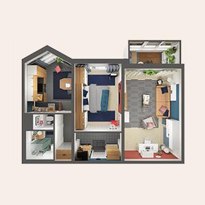 В закладки: Дизайн-проекты ИКЕА для российских квартир — Жизнь на Wonderzine