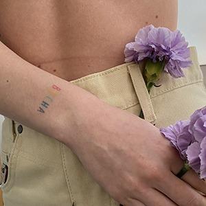 Моя татуировка:  SMM-редакторка  Даша Скачкова  о разноцветной «весне» — Красота на Wonderzine