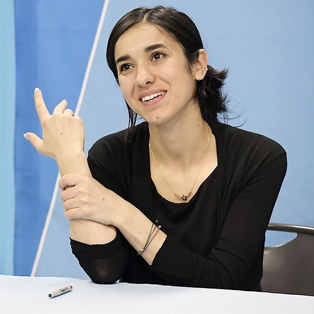 ГероиниВоенная наложница:  За что Надя Мурад получила Нобелевскую премию мира