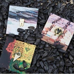 Лихие 90-е: Пейджер, семечки и другие новые значки Heart of Moscow — Вишлист на Wonderzine