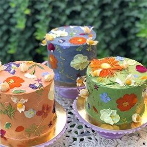 На кого подписаться: Инстаграм с красивыми блюдами из цветов — Стиль на Wonderzine