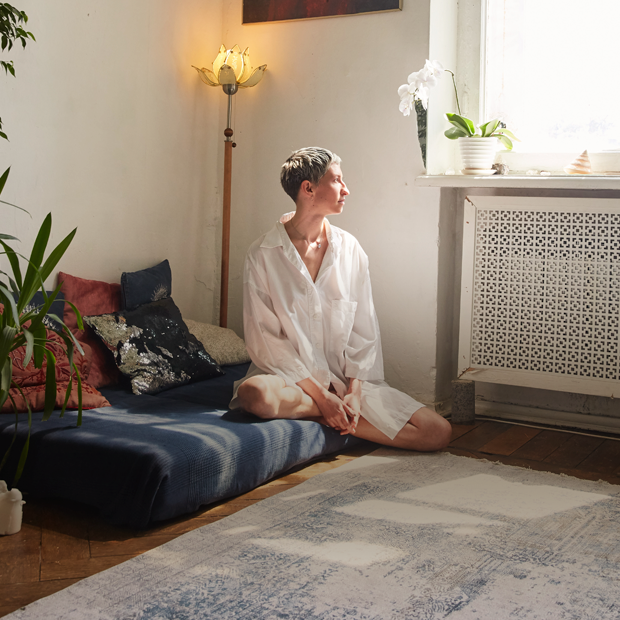 Художница и музыкант Мария Шимчук и её пространство в доме Лансере — Комната на Wonderzine