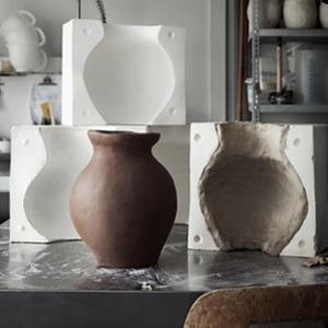 «Мятая» керамическая ваза ИКЕА — Вишлист на Wonderzine