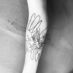 Моя татуировка:  QA-инженерка Саша Бруд  о «Полёте ведьм» — Красота на Wonderzine