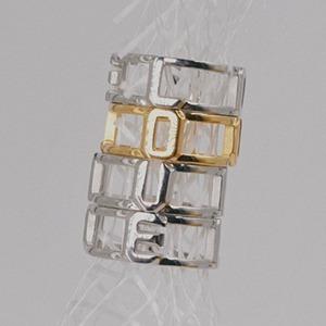 Кольцо «Сахарка» с надписью «Love» — Вишлист на Wonderzine