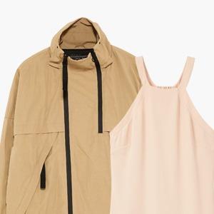 Комбо: Ветровка с летним платьем — Стиль на Wonderzine