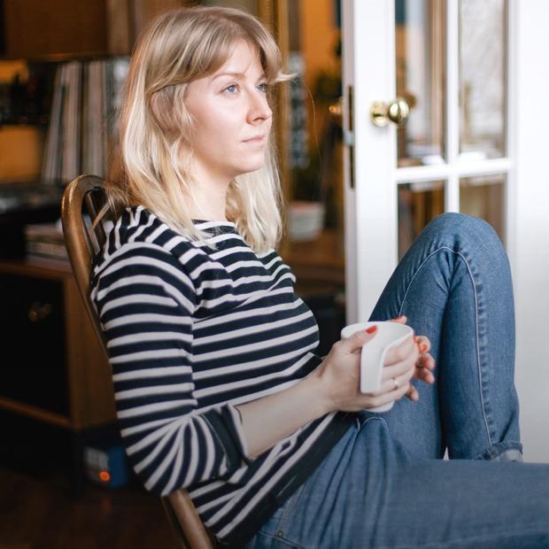 Совладелица Birdie Ксения Туманова у себя в гостиной