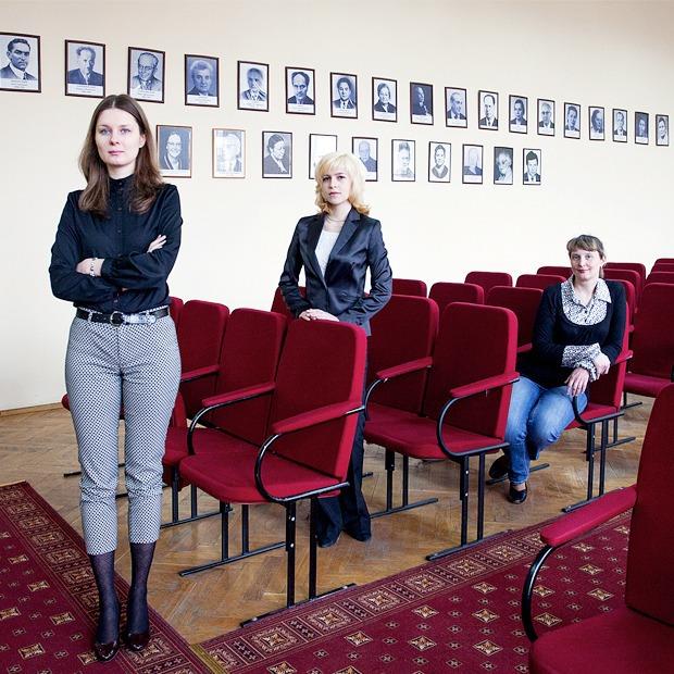 Женщины-ученые  о работе с детьми
