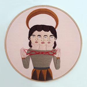 На кого подписаться: Художница Элейна Варроне и её виртуозные вышивки