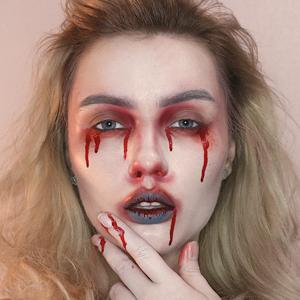 Членом как на лице сделать кровавую мэри фото