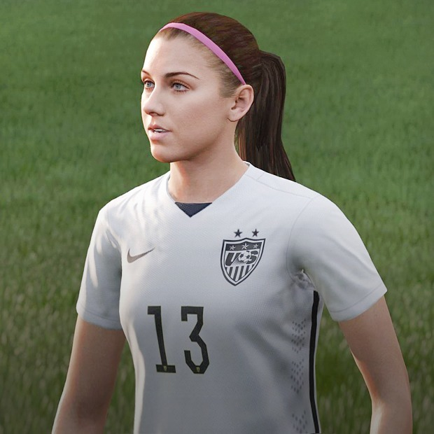 Футболистки клуба «GirlPower» играют в FIFA 16