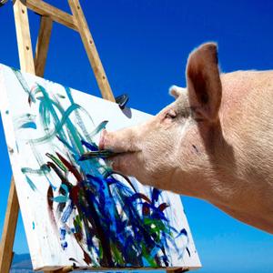 Часы Swatch, разрисованные свинкой — Вишлист на Wonderzine