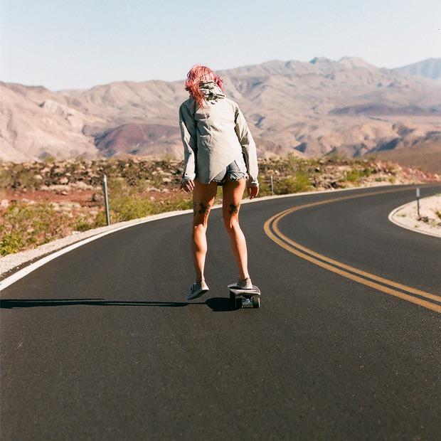 Калифорния  на кабриолете и скейте  за 21 день