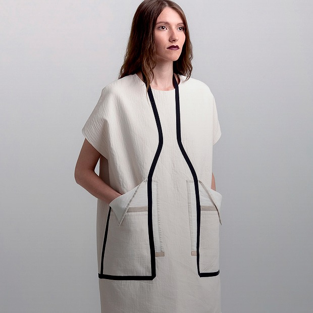 Геометричные платья и прозрачные сумки Ksenia Gerts — Новая марка на Wonderzine
