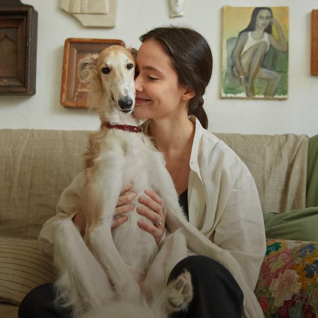 Художница и скульптор Надежда Лихогруд и её мастерская в Москве — Комната на Wonderzine