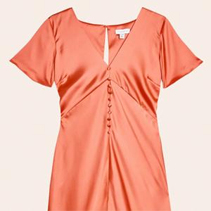 Платья на пуговицах: 10 вариантов от простых до роскошных  — Стиль на Wonderzine