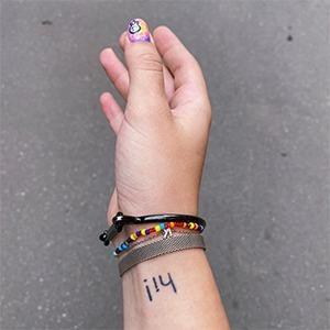 Моя татуировка: Менеджер Екатерина Нитченко  о приветствии на руке — Красота на Wonderzine