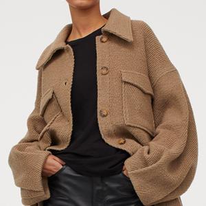 Объёмная куртка-рубашка H&M на все случаи жизни — Вишлист на Wonderzine