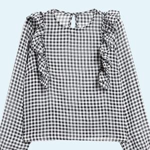 10 прозрачных блузок от простых до роскошных — Стиль на Wonderzine